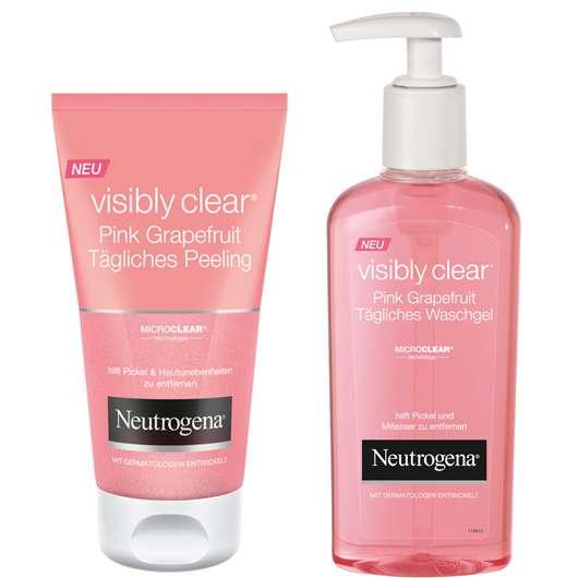 Neutrogena® Visibly Clear® Pink Grapefruit Pflegelinie