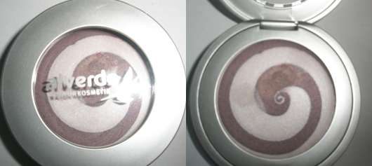 alverde Cremelidschatten, Farbe: 07 Aubergine Rose