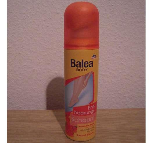 "Balea Body Enthaarungsschaum ""Sweet Berry"" für normale Haut"