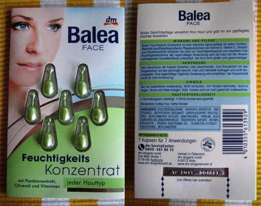 Balea Face Feuchtikeitskonzentrat jeder Hauttyp