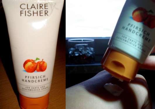 Claire Fisher Pfirsich Handcreme
