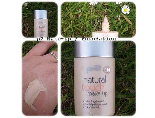 p2 natural touch make-up, Nuance: 010