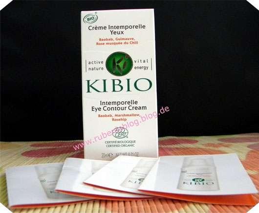 Kibio Intemporelle Eye Contour Cream