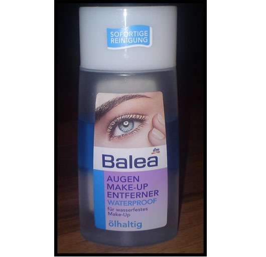Balea Waterproof Augen Make-up Entferner, ölhaltig