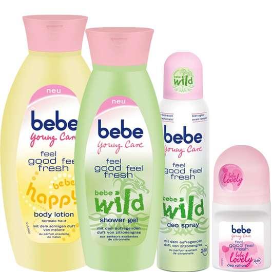 Die neuen feel good feel fresh Produkte von bebe Young Care®