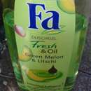 "Fa Duschgel Fresh & Oil ""Green Melon & Litschi"""