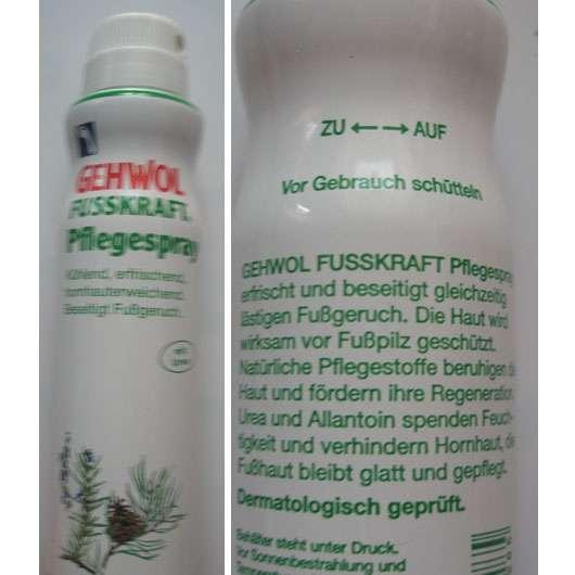 GEHWOL FUSSKRAFT Pflegespray