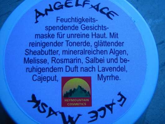Heymountain Angelface Face Mask