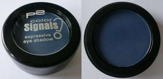 p2 color signals expressive eye shadow, Farbe: 010 Shockful Blue