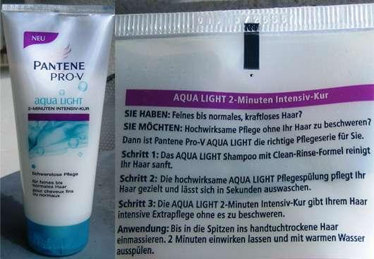 Pantene Pro-V aqua Light 2-Minuten Intensiv Kur