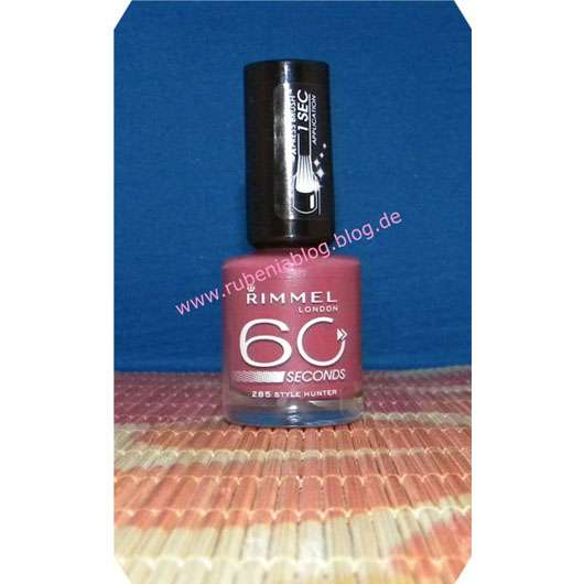 Rimmel London 60 Seconds Nagellack, Farbe: 285 Style Hunter