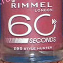 Rimmel London 60 Seconds Nagellack, Farbe: 285 Style Hunter