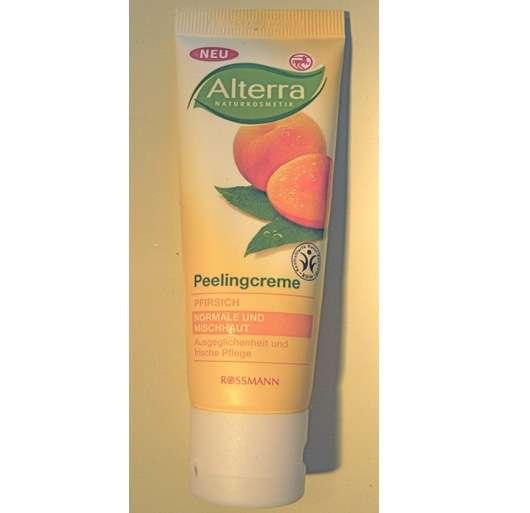 Alterra Peelingcreme Pfirsich (normale und Mischhaut)