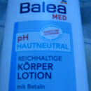 Balea Med pH Hautneutral reichhaltige Körperlotion mit Betain