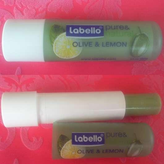 """Labello """"pure & natural"""" – Olive & Lemon"""