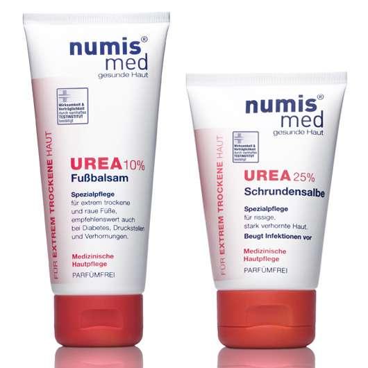 numis® med Fußbalsam und Schrundensalbe