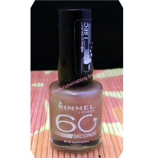 Rimmel London 60 Seconds Nagellack, Farbe: 510 Euphoria