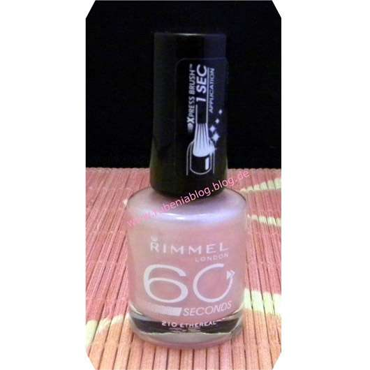 Rimmel London 60 Seconds Nagellack, Farbe: 210 Etheral