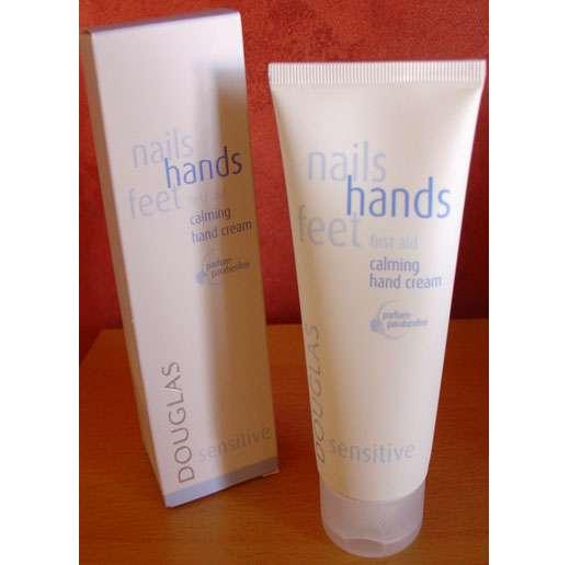 Douglas nails hands feet first aid calming hand cream sensitive