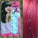 Fing'rs Hair Glam – Kristallsträhnen für die Haare