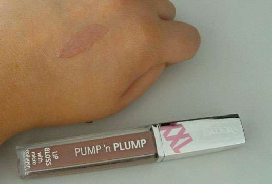 IsaDora Lip Gloss Pump 'n' Plump, Farbe: 72 Coffee Cream