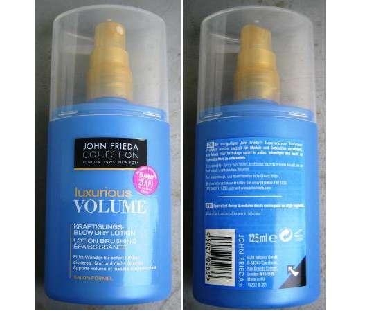 John Frieda Collection Luxurious Volume Kräftigungs-Blow Dry Lotion