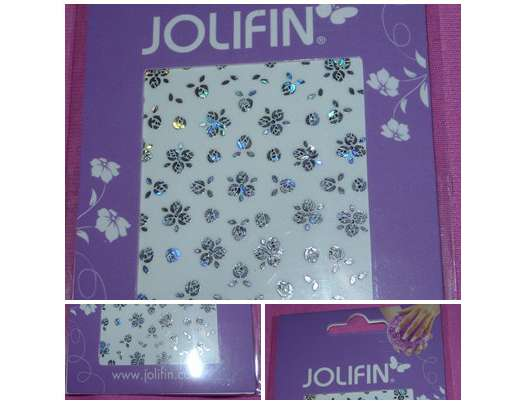 Jolifin Hologramm Nail Art Sticker