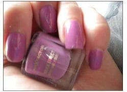 Produktbild zu Max Factor Max Effect Mini Nail Polish – Farbe: 08 Diva Violet