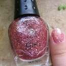 NYX Girls Nailpolish, Farbe: CN233 (rosa Glitzerfäden)