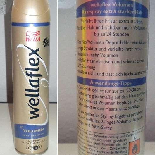Wella wellaflex Volumen Haarspray – extra starker Halt