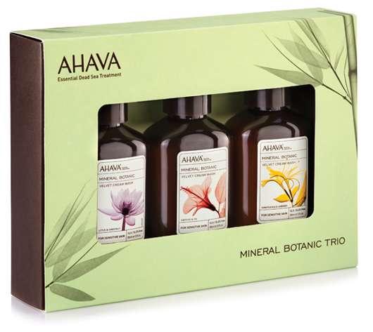 Limitiertes AHAVA Mineral Botanic Miniaturen-Trio