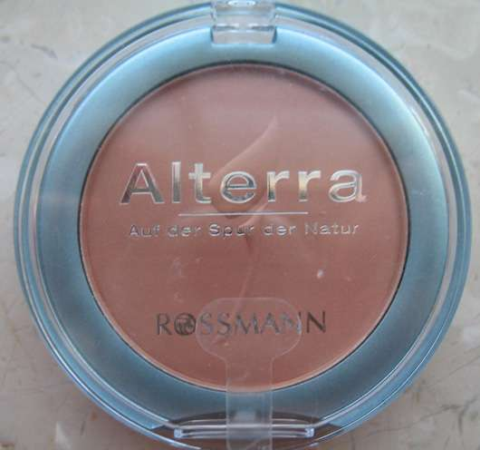Alterra Rougepuder, Farbe: 03 terracotta