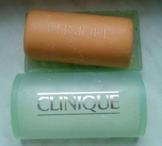 Clinique Facial Soap mit Schale (für Misch- bis ölige Haut)