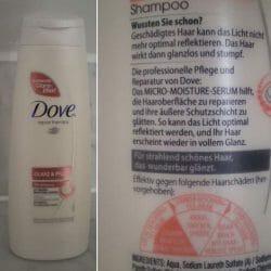 Produktbild zu Dove Repair Therapy Glanz & Pflege Shampoo
