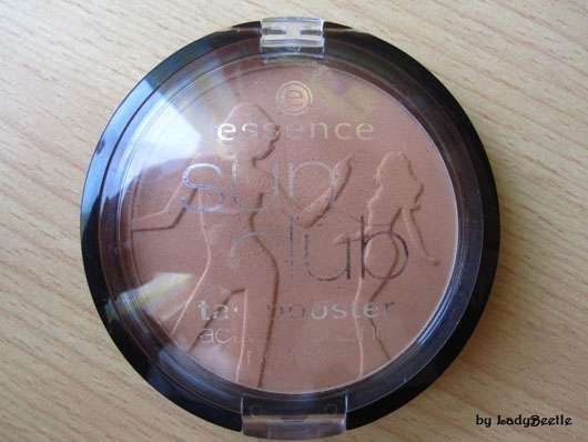 essence sun club tan booster active bronzing powder