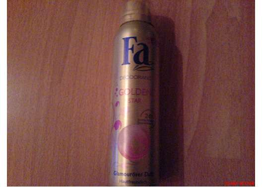 "Fa Deodorant ""Golden Star"""