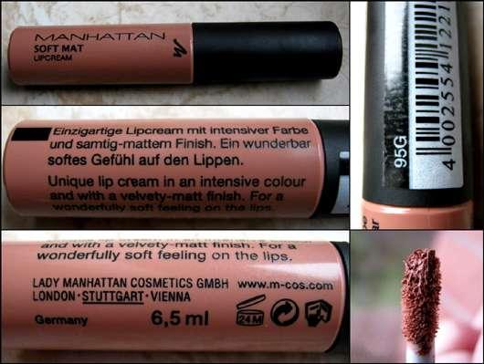 Manhattan Soft Mat Lipcream, Farbe: 95G