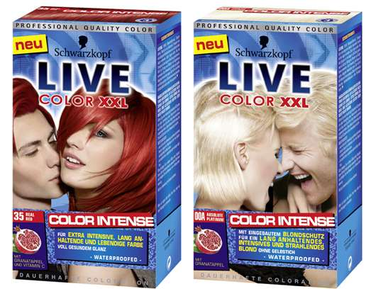 Relaunch Schwarzkopf LIVE Color XXL