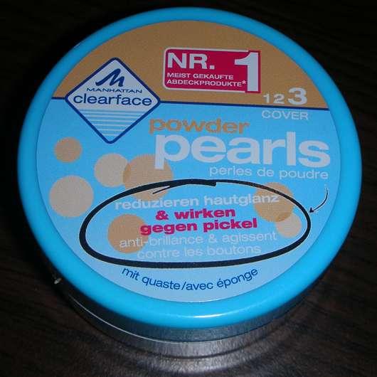 Manhattan Clearface powder pearls