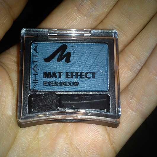 Manhattan Mat Effect Eyeshadow, Farbe: 78X Mat Petrol