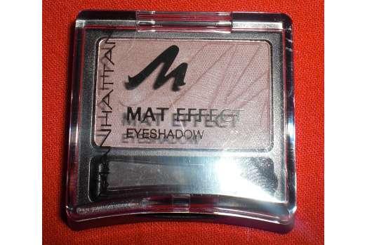 Manhattan Mat Effekt Eyeshadow, Farbe: 95R Mat Maroon
