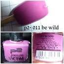 p2 color victim nailpolish, Farbe: 011 be wild