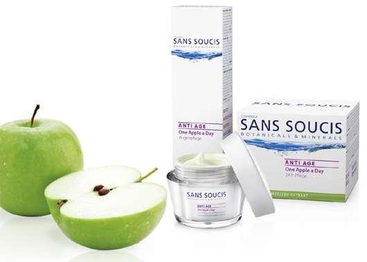 Neue Pflegeserie ANTI AGE One Apple a Day von SANS SOUCIS