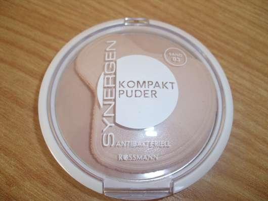 Synergen Kompakt Puder Antibakteriell, Farbe: 03 Sand