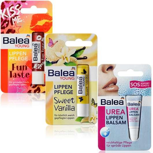 Drei neue Lippenpflegeprodukte von Balea