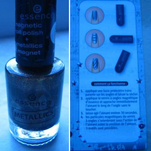 essence metallics nail polish, Farbe: 02 copper rulez + essence metallics magnet