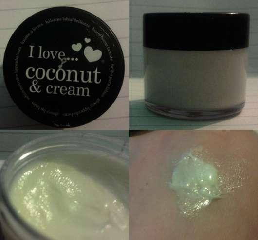 I love… coconut & cream glossy lip balm