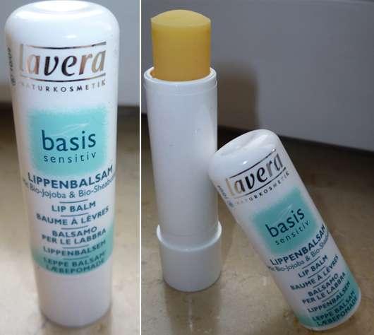 lavera Naturkosmetik basis sensitiv Lippenbalsam mit Bio-Jojoba & Bio-Sheabutter