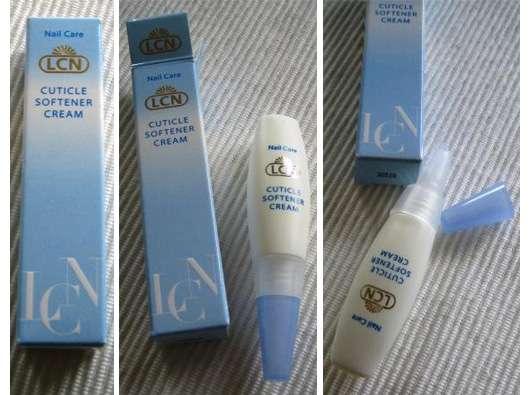 LCN Nail Care Cuticle Softener Cream – reichhaltige Creme zur Pflege der Nagelhaut