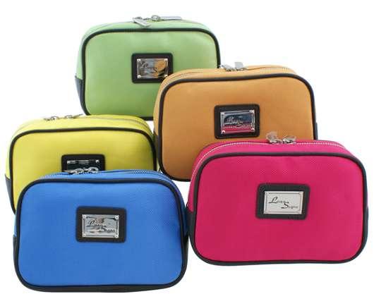 Linea Sogno Beauty Bags in kräftigen Farben